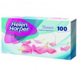 Бумажные салфетки в картон. коробке Helen Harper 100 шт.