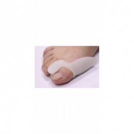 Бурсопротектор первого пальца стопы с межпальцевой перегородкой 201С (белый)