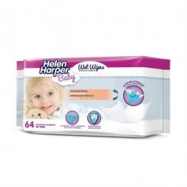 Салфетки Helen Harper детские влажные 64 шт.