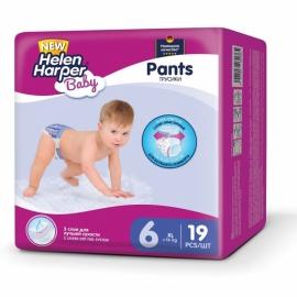 Подгузники-трусики дет Helen Harper Baby Pant XL 16+ кг 19 шт